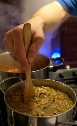 Tage klager zuppa di farro