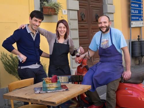 Elisa og teamet