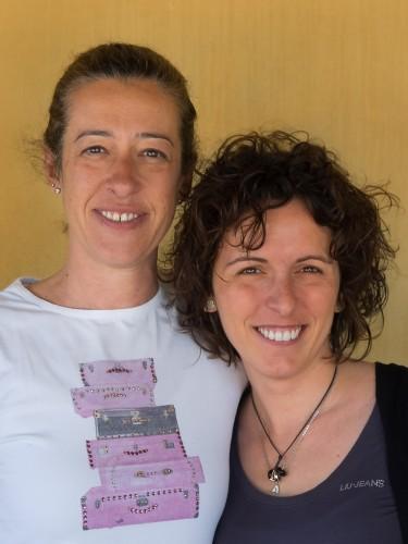 Paola og Elisa på Volpaia