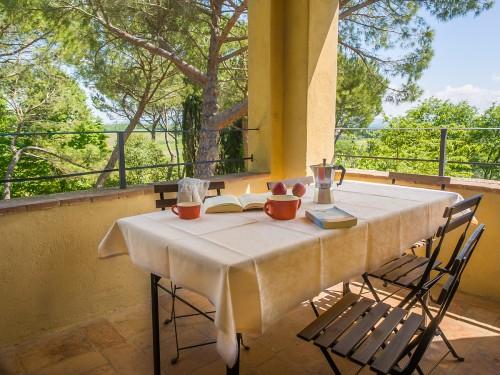 Deilig verandastemning på Borgo Taddei