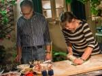 Ari og Lisa lager Pizza Berlusconi