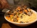 Primo: Spaghetti con Vongole (hjerteskjell)